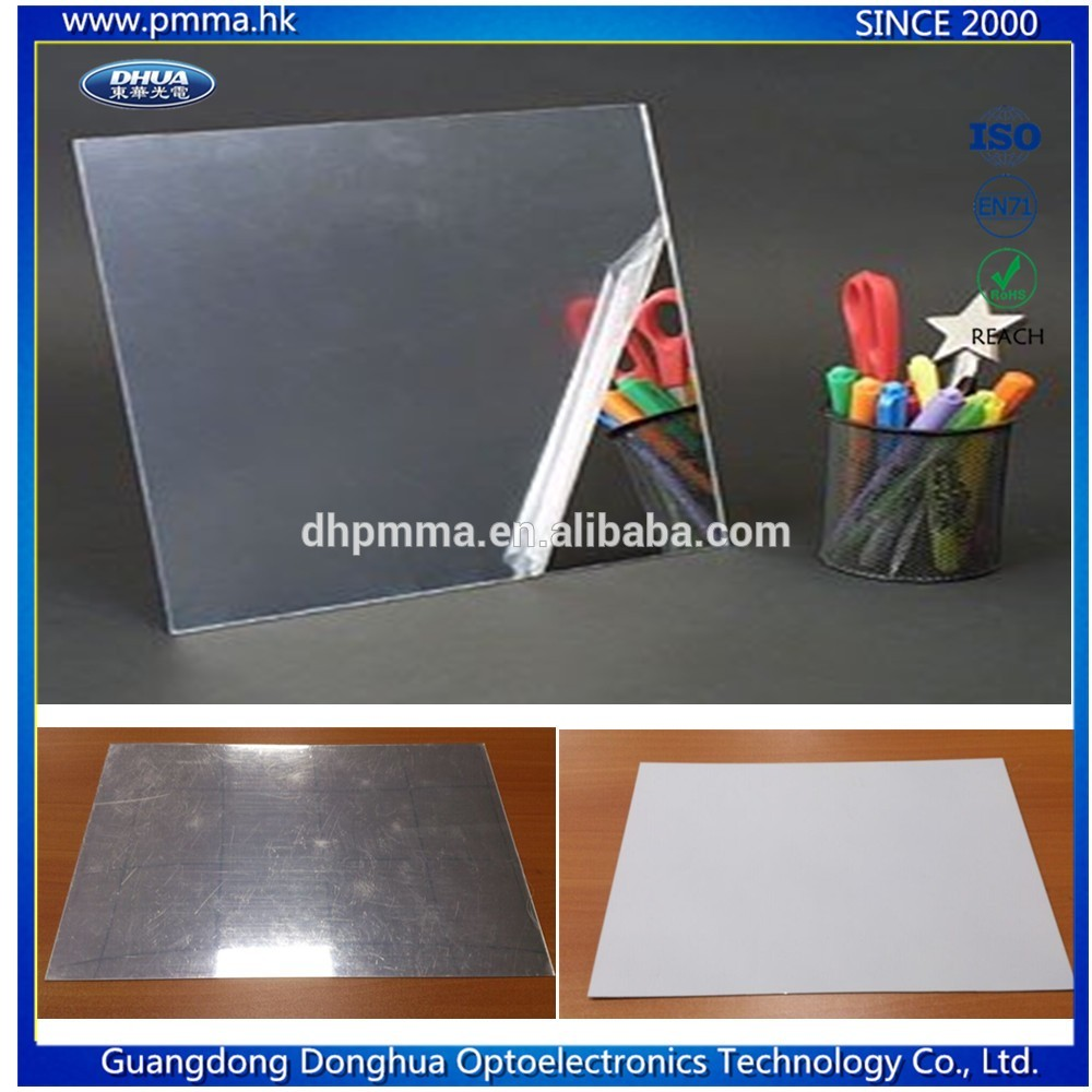 Perspex Plastic Mirror Sheet - Clear Extruded Mirror perspex acrylic mirror sheet