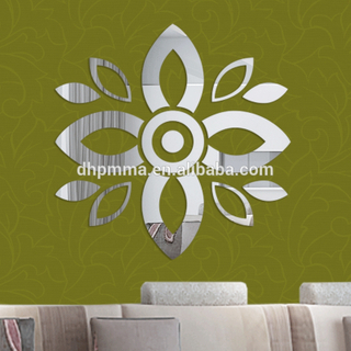 Acrylic Wall Art Mirror Sticker for Decoration