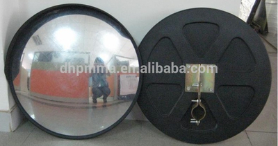 Outdoor Dia 600mm roadway safety convex mirror