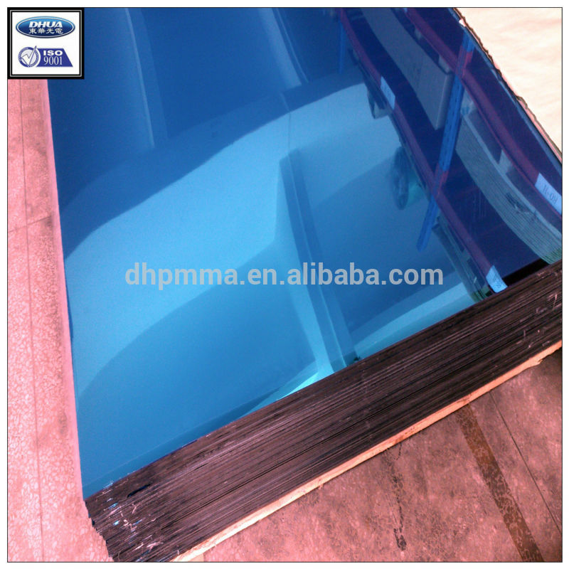 shatter proof acrylic material plastic mirror sheet