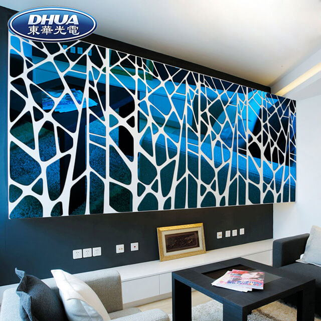 High Quality Acrylic Mirror Sticker Decor