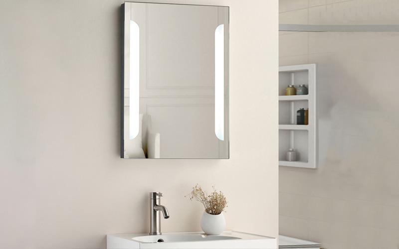 shower wash fogless mirror