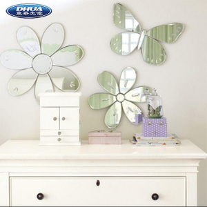 2019 Popular Acrylic Mirror Sticker For Wall Decoration