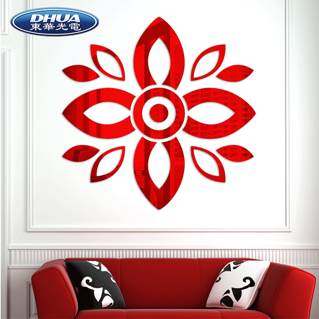 Acrylic Wall Sticker, Wall Decoration, Decorative Wall Sticker for indoor