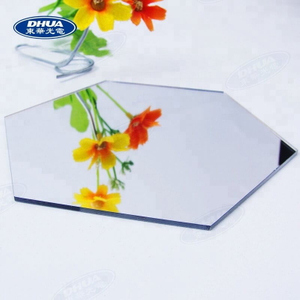 SGS & ROHS Low price 2mm Gold color extructed ACRYLIC glass mirror sheet