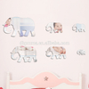 Children Room Safety Acrylic Wall Mirror Sticker with Self Adhesive Back Elephant Shape