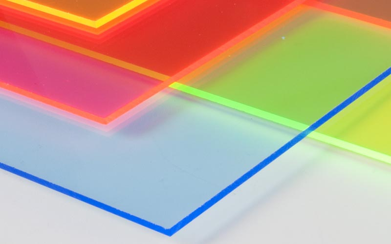 The difference between PVC transparent sheet and acrylic PMMA sheet