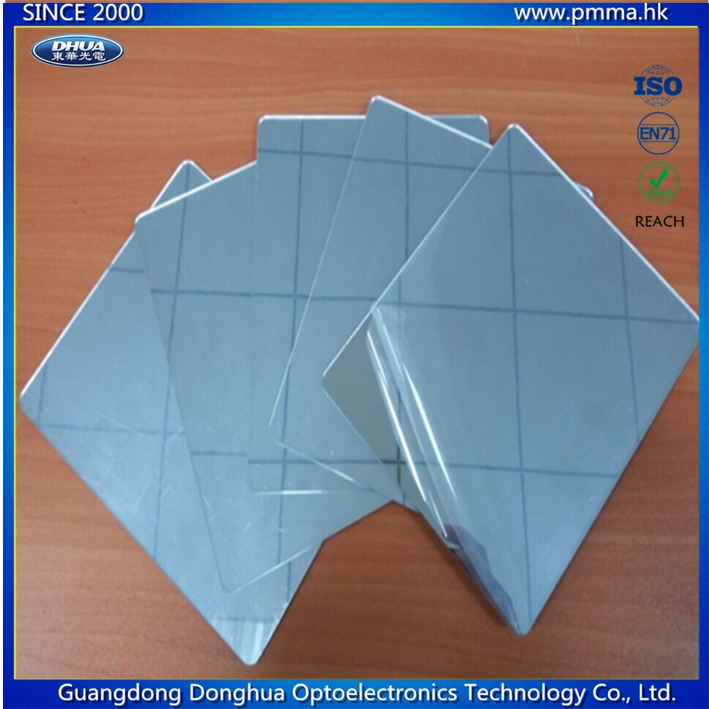 plastic unbreakable mirror sheet in pmma material