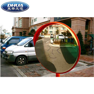 Outdoor Traffic Safety Road Acrylic Convex Mirror Unbreakable