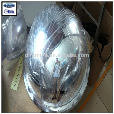 Full dome plexiglass acrylic security convex mirror for retail business