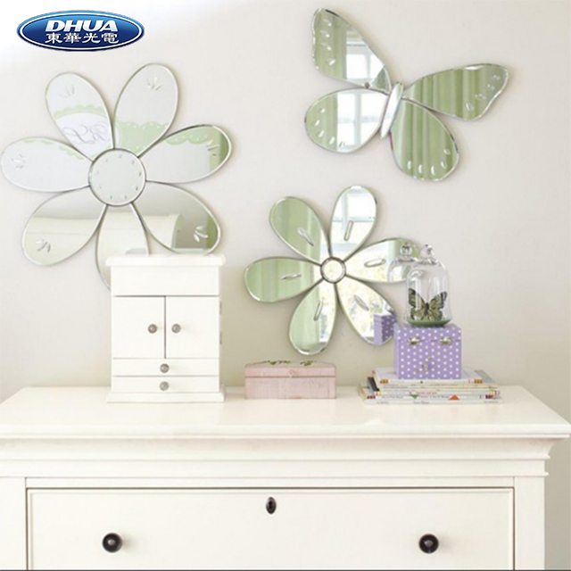2019 Popular Heart Acrylic Mirror For Wall Decoration