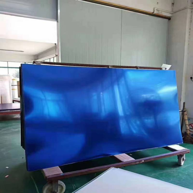 3mm Blue Acrylic Mirror Cut-To-Size, Colored Mirror Acrylic Sheets